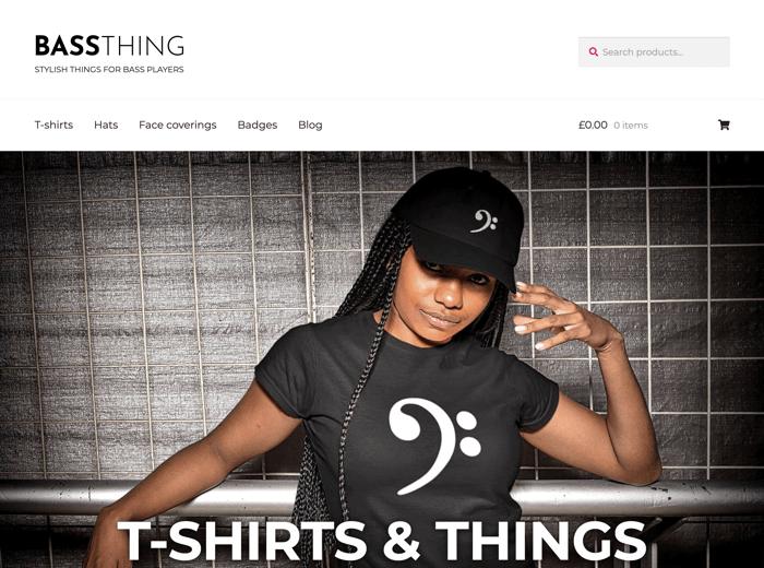 bassthing.uk website screenshot